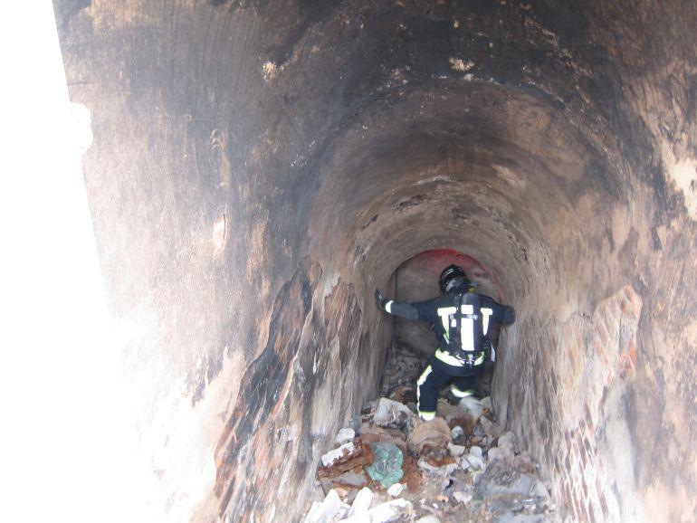 Inspección del REfugio Antiaéreo de la Santa Faz