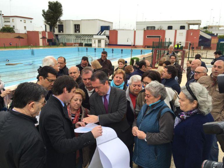 El proyecto de reforma de la piscina del tiro de l nea se for Piscinas imd sevilla