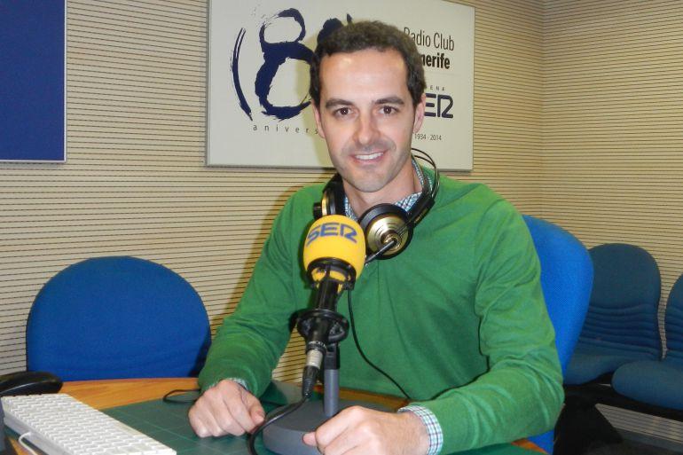 Antonio Cárdenes, presentador de 'SER Iguales'
