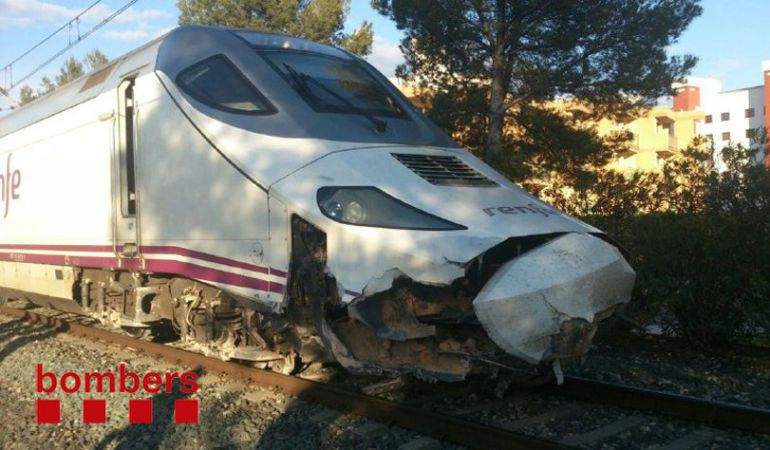 Accidente ferroviario: Un Euromed Barcelona - Alicante descarrila en Tarragona sin causar heridos