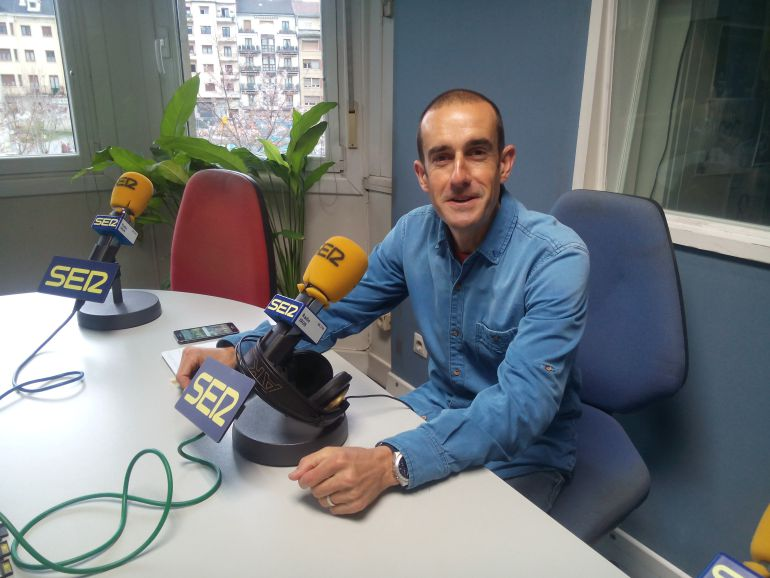Iñaki Astudillo, secretario de la ONG Abay Etiopía