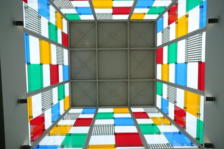 Edificio del Centro Pompidou Málaga