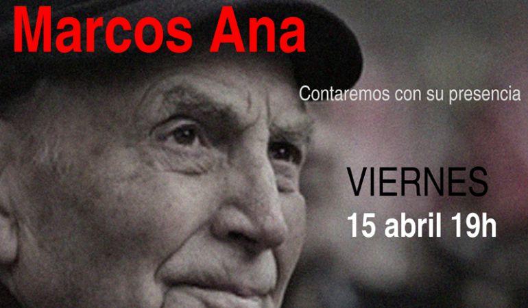 La presencia de Marcos Ana protagonizará el homenaje de IU