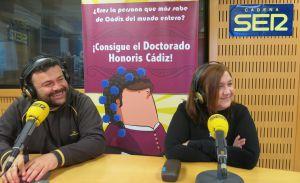 Momento del concurso Doctorado Honoris Cádiz