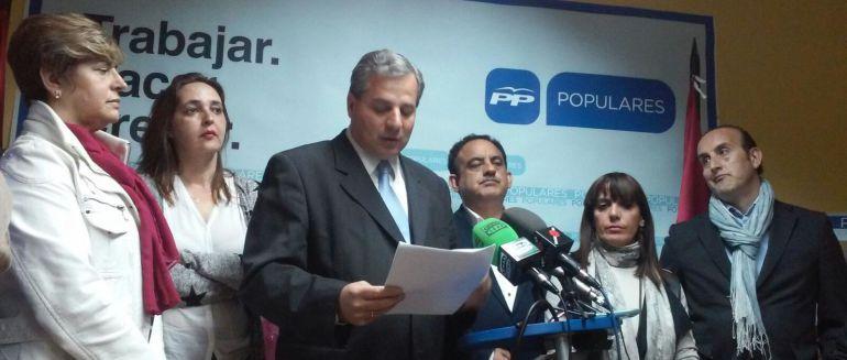 Antonio De La Torre Presidente Del Pp En Valdepe As