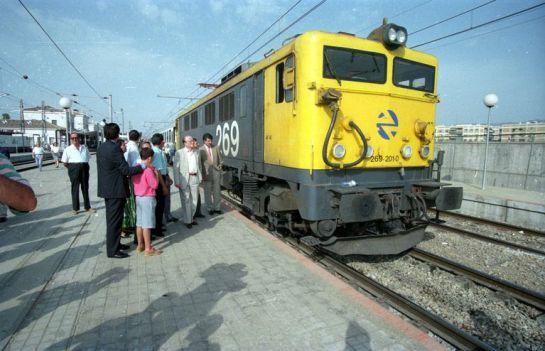 1994 - Salida del último tren desde la Antigua Estación de Córdoba