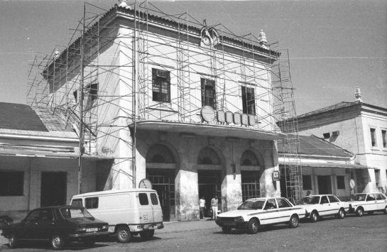 1986 - Exterior de la Antigua Estación de Córdoba
