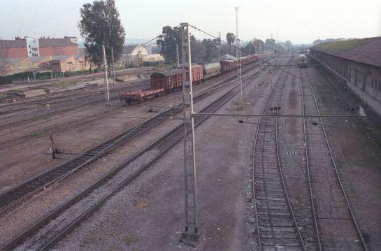 1989 - Terrenos ocupados por las vías