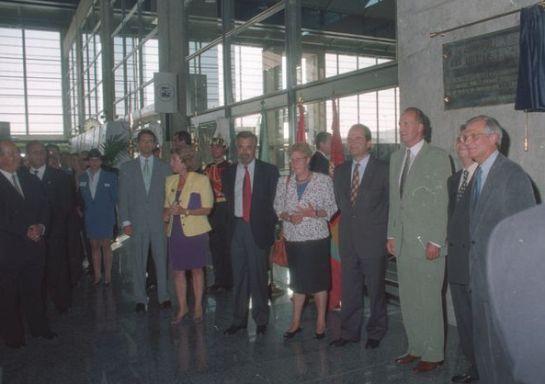 Autoridades en la Inauguración de la Estación de Córdoba