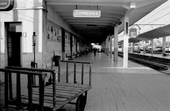 1986 - Antigua Estación de Córdoba / Archivo Histórico Ayuntamiento de Córdoba