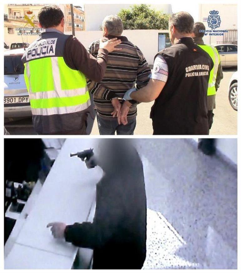 Detenidos dos hombres de 56 y 71 a os por atracar a punta for Oficinas bancarias abiertas por la tarde