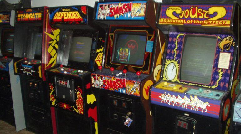 Máquinas habituales en los salones recreativos