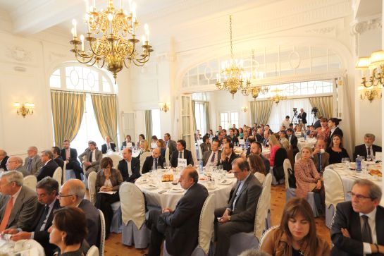Una imagen de los invitados a Foro SER Cantabria
