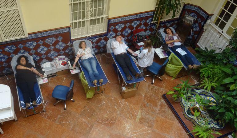 Donación de sangre en Radio Sevilla Exitosa donación de