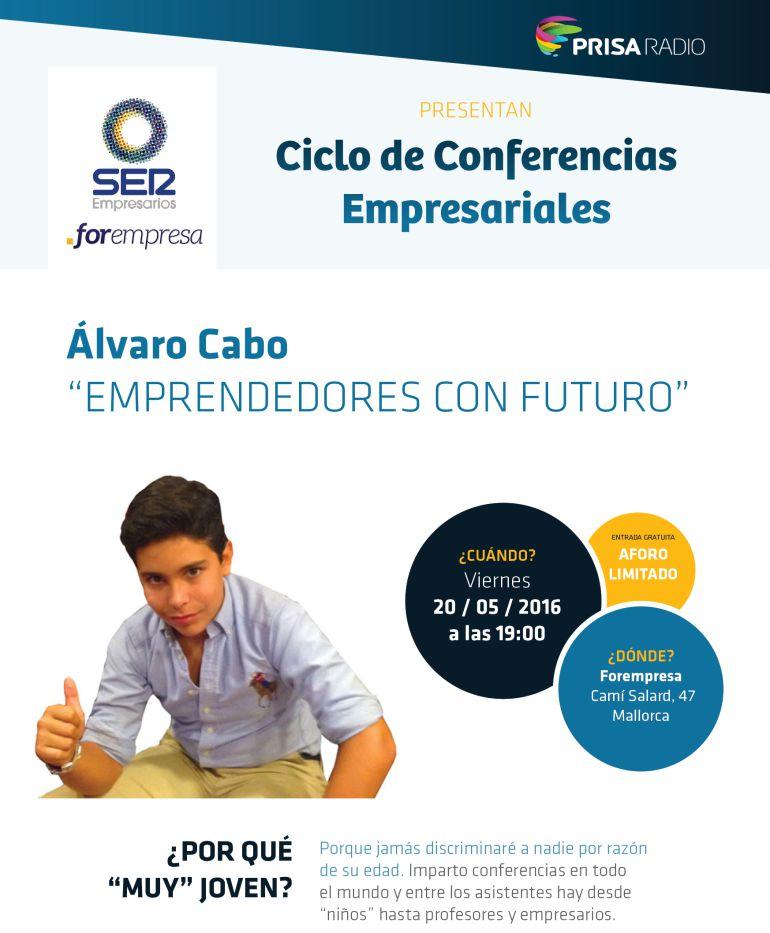 """""""Emprendedores con futuro"""" Álvaro Cabo"""