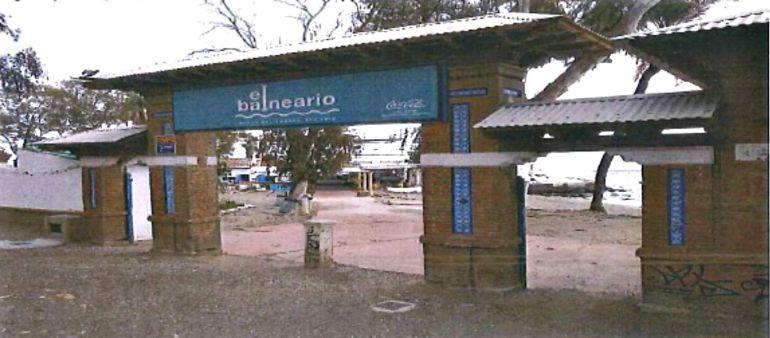 Imagen incluida en el reportaje fotográfico de la inspección a los Baños del Carmen