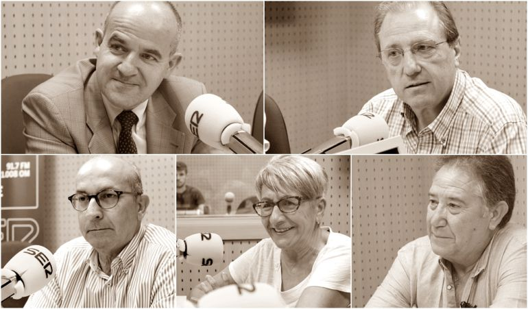 Doctor Gonzalo Rodríguez Laiz, Doctor Pedro García Tabar, Doctor Carlos Santiago, Purificación Gómez y Miguel Rojo nos hablan del Día Nacional del Donante