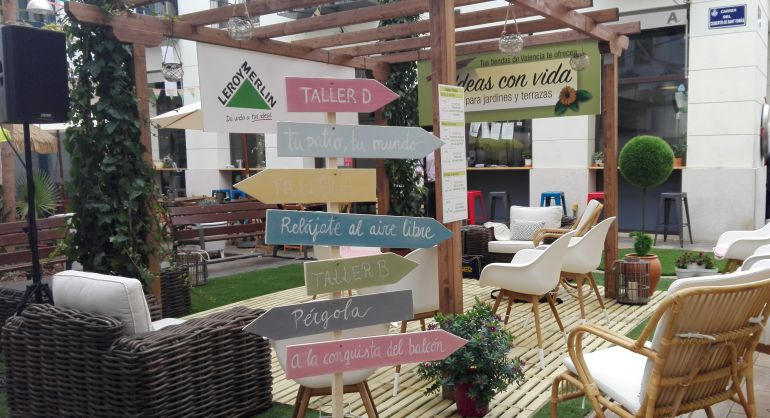 en pleno centro histrico leroy merlin ofrece este fin de semana las ltimas novedades en mobiliario de jardn y terraza - Leroy Merlin Jardin