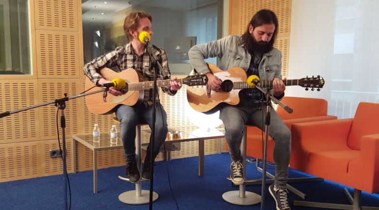 Gold & Colt en Radio Pontevedra