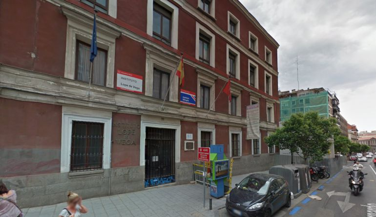 institutos de madrid capital: