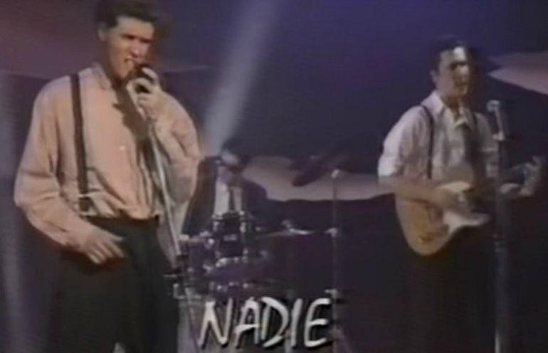"""Actuación de Los Nadie en el programa """"Mi querido Pirulí"""""""