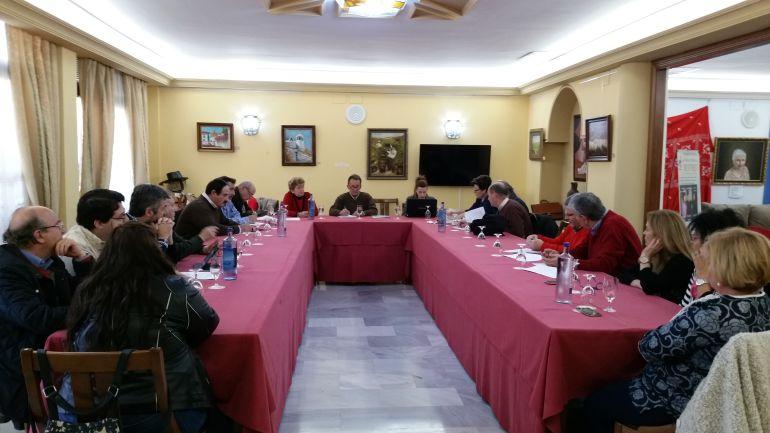Asamblea de parcelistas en Córdoba