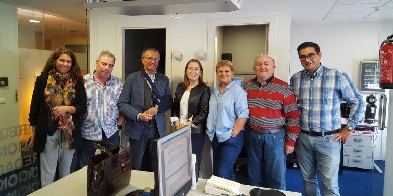 Ana Pastor visita Radio Pontevedra