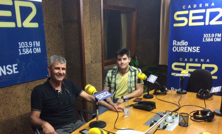Mocho Conde Corbal con Iván Caride