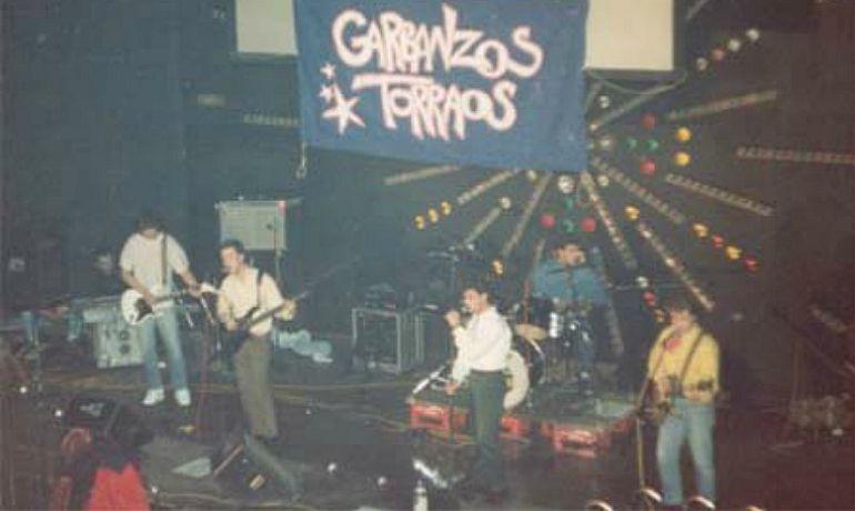 Un concierto del grupo 'Garbanzos Torraos' en la discoteca Coliseo de Medina del Campo