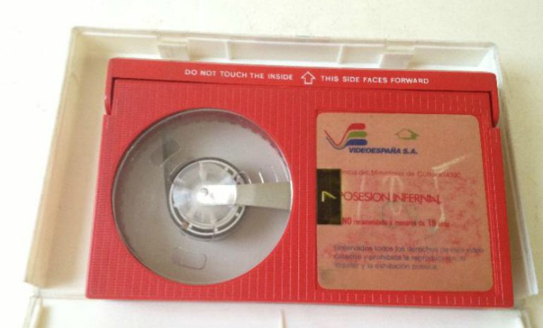 Una cinta de vídeo del sistema Beta