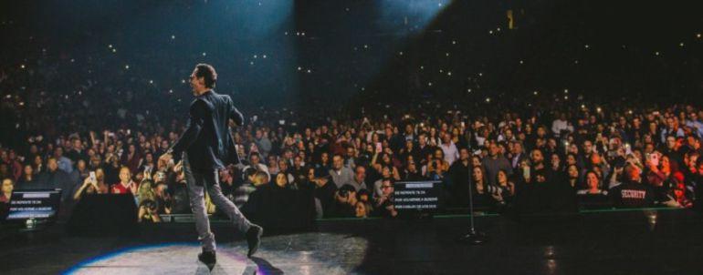 A Coru A Marc Anthony Ofrecer En El Coliseum Su Nico