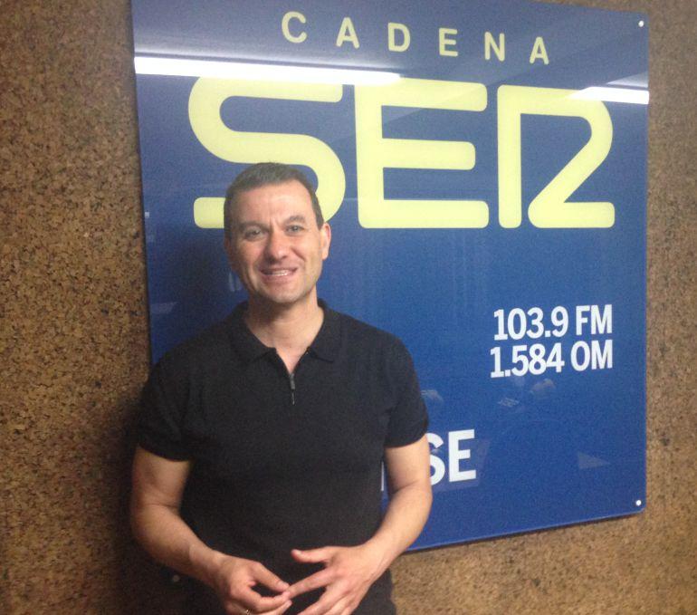 Nacho Gómez, portavoz del PSOE en la Diputación, en nuestros estudios