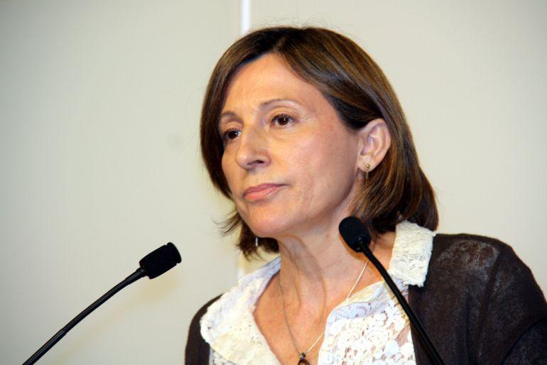 La presidenta del Parlament de Catalunya, Carme Forcadell