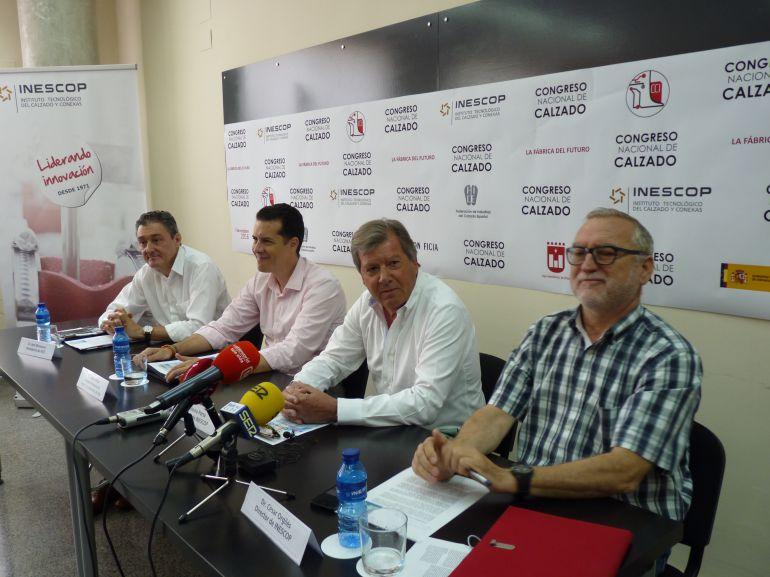 José Monzonís, Rubén Alfaro, Antonio Porta y César Orgilés