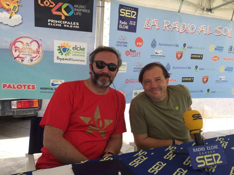 El concejal de Deportes, Jesús Pareja, en La Radio al Sol