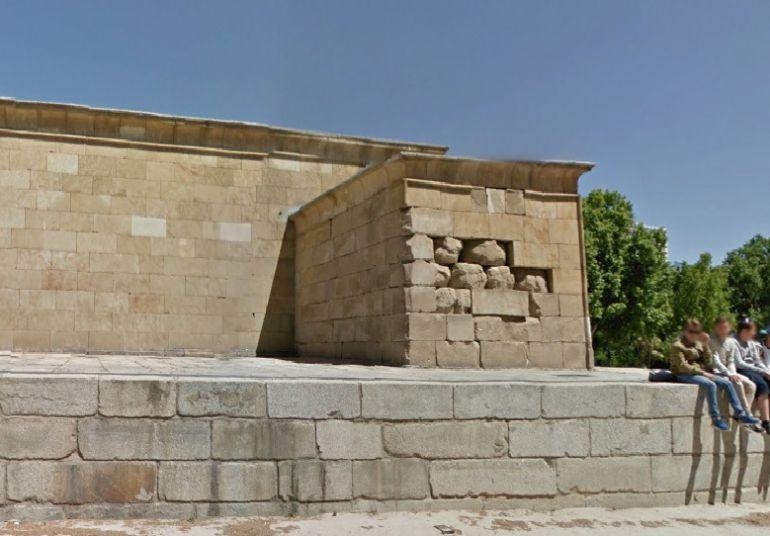 El Ayuntamiento admite el deterioro del Templo de Debod