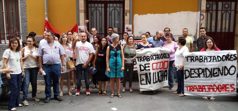 Huelga en CCOO