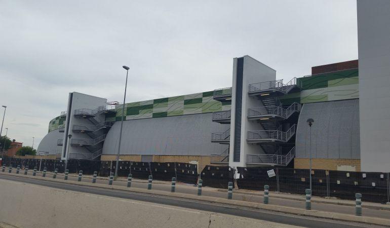 El centro comercial prosigue sus obras de reforma