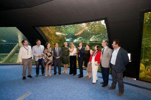 La presidenta de la Junta de Andalucía preside el acto de inauguración del Biodomo, nuevo espacio del Parque de las Ciencias de Granada