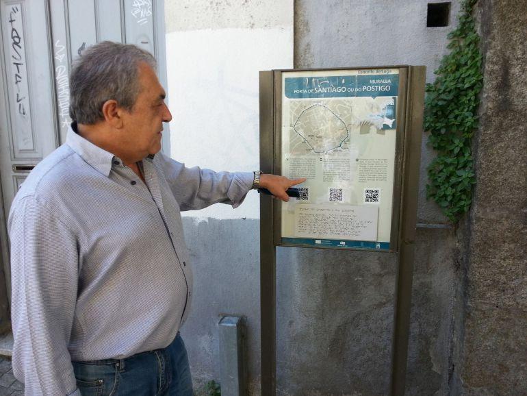 Santiago Fernández Rocha, portavoz de Lugonovo