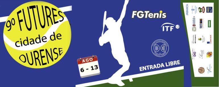 Cuenta atrás, para disputarse la 9ª edición del Torneo de Tenis Futures Cidade de Ourense 2016