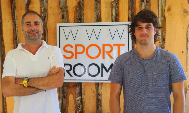 Los torrelaveguenses Alberto García y Gerardo Madero creadores del primer portal online de alojamientos y servicios para deportistas