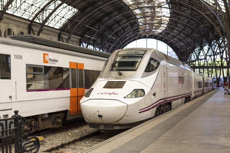 Cortes en el transporte convenional de tren entre Palencia y Santander