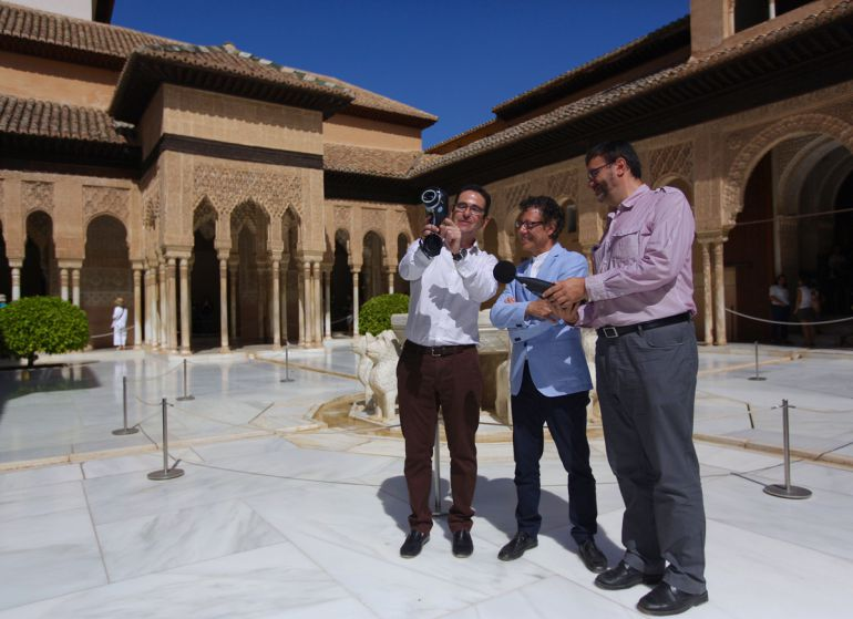 Presentación del estudio sobre los sonidos en la Alhambra (Granada)