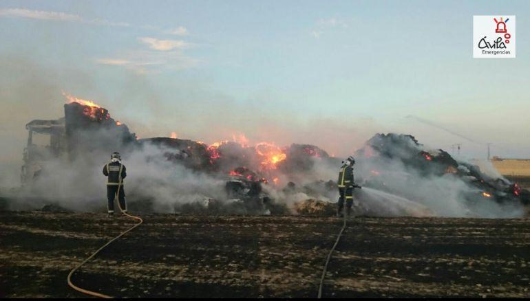 Incendio del camión