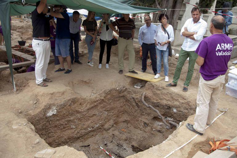 Recuperados 132 cuerpos de fusilados en el cementerio del Carmen