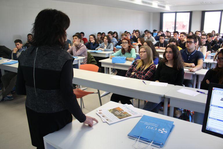 Aula de la Universidad Cardenal Herrera CEU