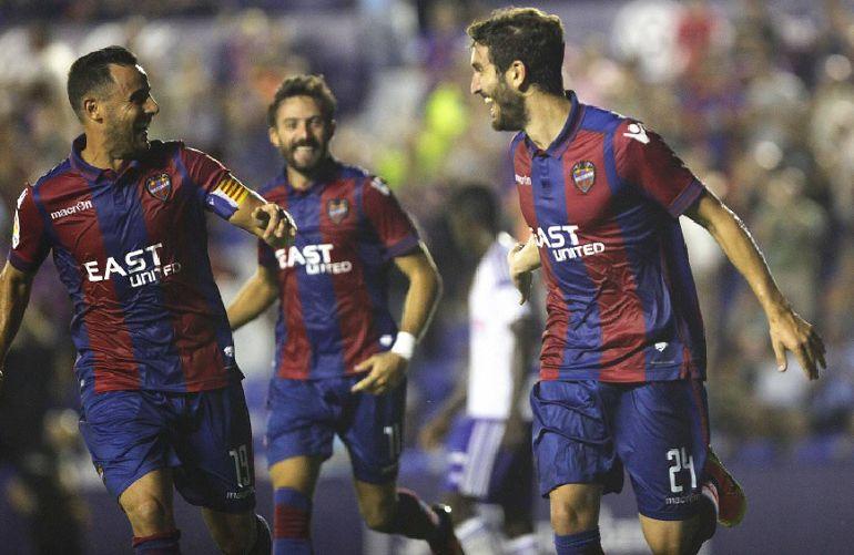 El Levante gana al Zaragoza y comanda la tabla