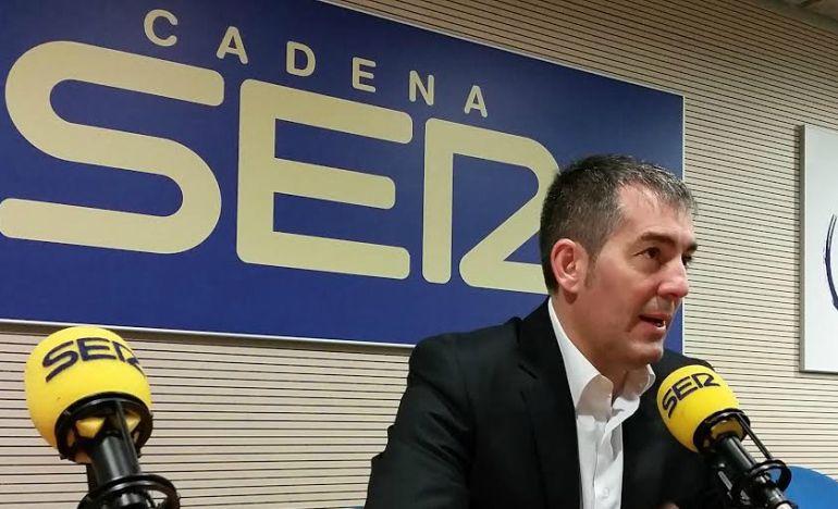 Clavijo inicia en Castilla La Mancha una gira para sumar apoyos a la cumbre de presidentes autonómicos