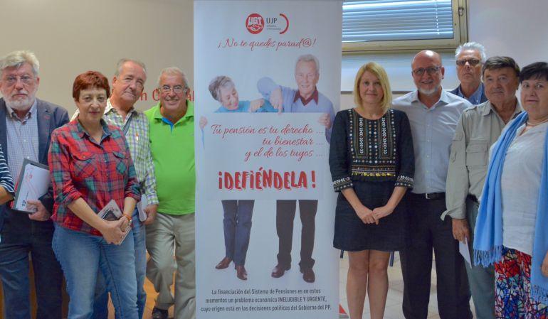 El sindicato ha presentado sus planteamientos en defensa de las pensiones en Getafe
